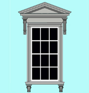 Window Architrave WA3
