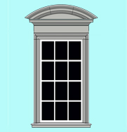 Window Architrave WA6