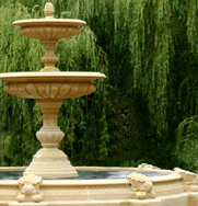 Large Two Tier Vermeer Garden Fountain Centrepiece