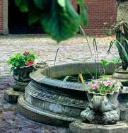 The david sharp studio garden fountains pool surrounds for Windsor garden studio