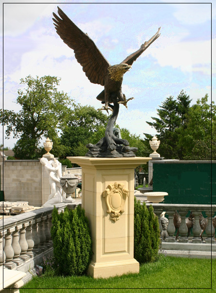 Classical Statue Garden Ornaments Bronze eagle ptjpg