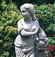 Winter Four Seasons Garden Statue