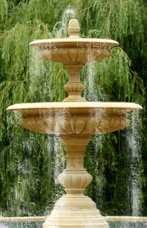 The David Sharp Studio Garden Fountains Pool Surrounds Bronze