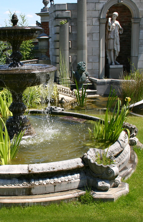 Garden Fountain Pool Surrounds