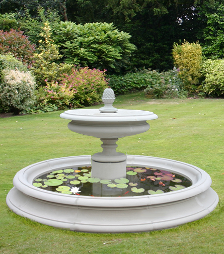 The David Sharp Studio Garden Fountains Pool Surrounds