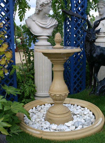 Firenze garden fountain centrepeice and pool surround for Garden pool ornaments
