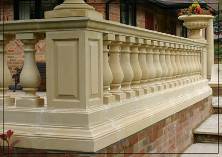 Hampton Balustrade Straight Run
