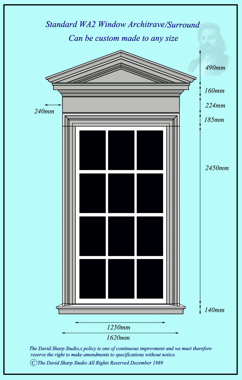 Window Architrave WA2