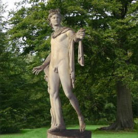 Apollo Belvedere Lifesize Marble Garden Statue by the david sharp studio