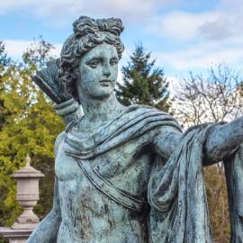 Apollo Belvedere Lifesize Bronze Garden Statue