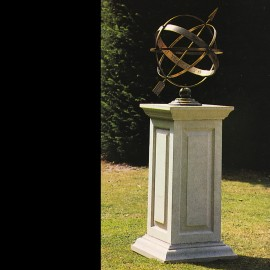Chatsworth Stone Base & Armillary by the David Sharp Studio