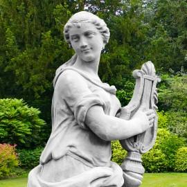 Four Arts Musician Garden Statue