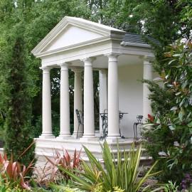 The David Sharp Studio Stone Columns