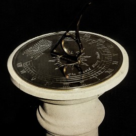 Keats Stone Base,Sundials Gnomon, The David Sharp Studio, stone garden ornaments