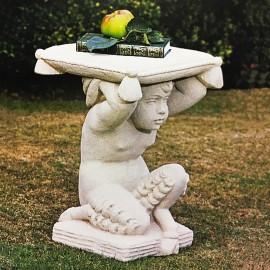 stone Pan Garden Seat david sharp studio