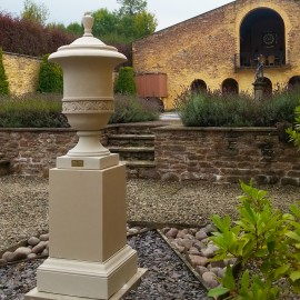 Richmond Urn Finial by the David Sharp Studio