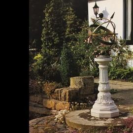 The Beautiful Victorian Stone Base Armilliary by The David Sharp Studio