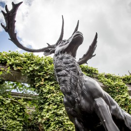 Bronze Stag by the David Sharp Studio