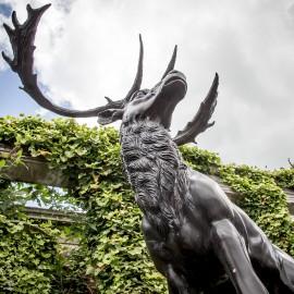 Bronze Stag by the David Sharp Studio