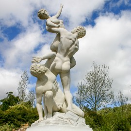Rape of the Sabines Garden Statue Giambologna