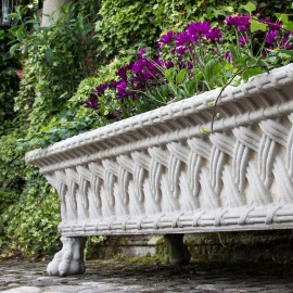 Plaited Trough Planter by the David Sharp Studio