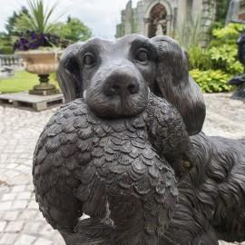 Bronze Hunting Dog by the david sharp studio