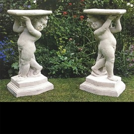 Putti Console (Left Hand) Garden Ornament