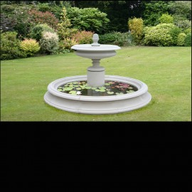 Welham Garden Fountain Centrepiece by the David Sharp Studio
