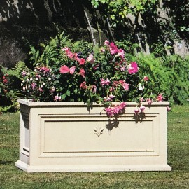 The Kensington Stone Trough Garden Planter by the David Sharp Studio