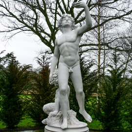 Marble Bacchus Garden Statue garden ornament by the david sharp studio