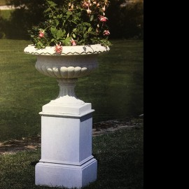 The Regency garden pedestal by the David Sharp Studio