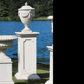 Rothschild Pedestal beautiful garden stone pedestals by the david sharp studio