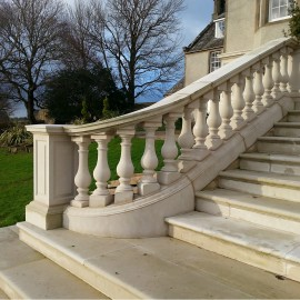 Buckingham Stone Balustrade Range
