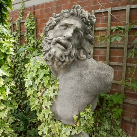 Antiqued Bust Laocoon by the David Sharp Studio