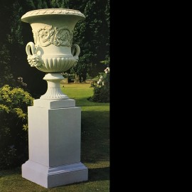 Stone Palace Garden Vase by The David Sharp Studio