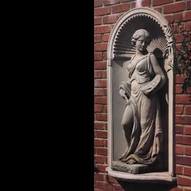 david sharp studio stone garden wall niche