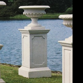 The Stowe garden pedestal by the David Sharp Studio