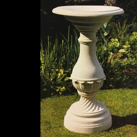 Tennyson Bird bath Garden Ornament by the david sharp studio