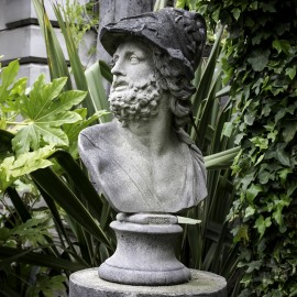 Ajax (Zeus) Bust Statue by the David Sharp Studio