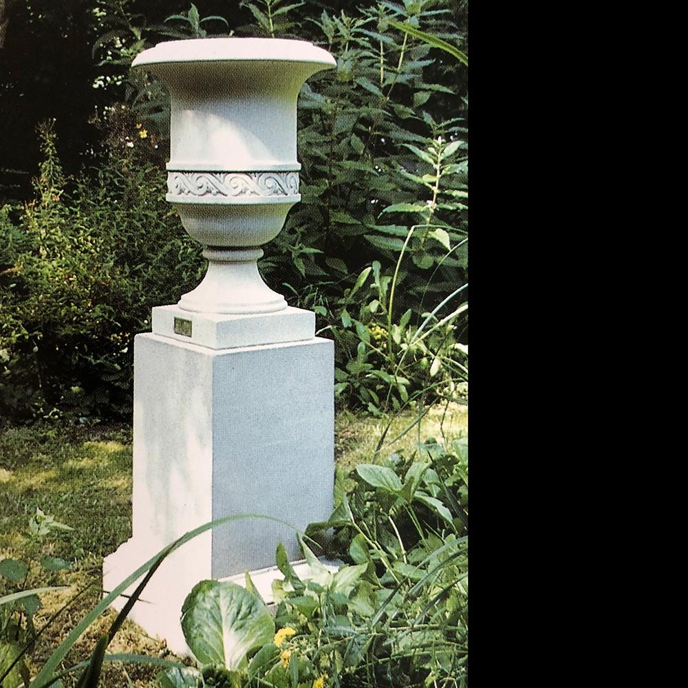 St James Stone Garden Pedestal By The David Sharp Studio