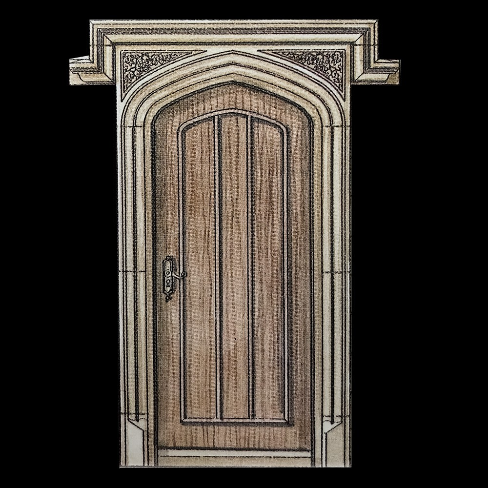 Tudor Gothic Stone Door Surround By The David Sharp Studio