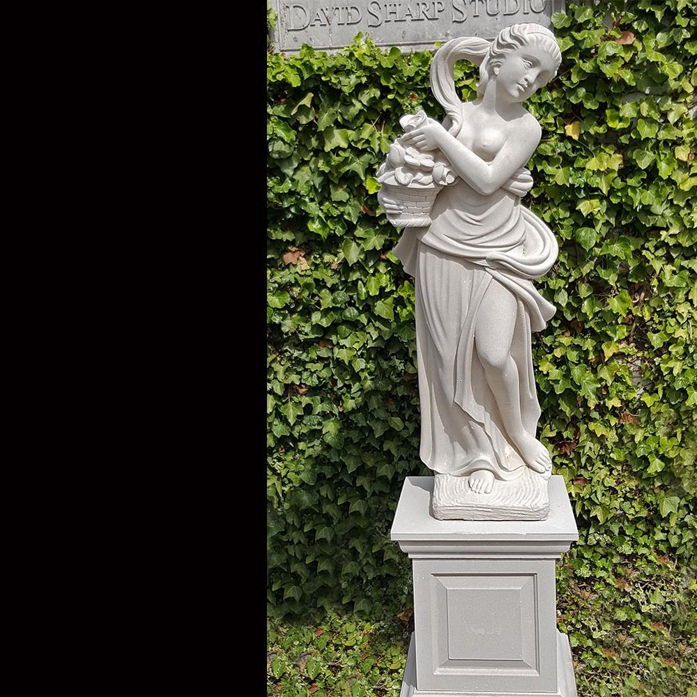 Spring Stone Garden Statue