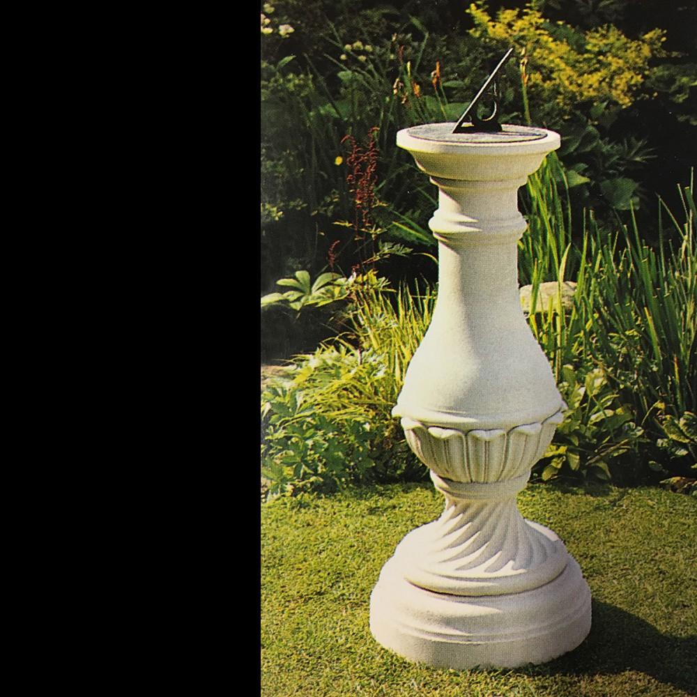 prodigious Sundial Pedestal Base Part - 16: ... Beautiful Keats Stone Base,Sundials Gnomon, The David Sharp Studio,  stone garden ornaments