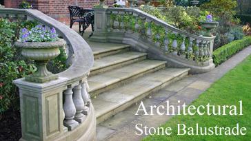 Garden Stone Balustrade