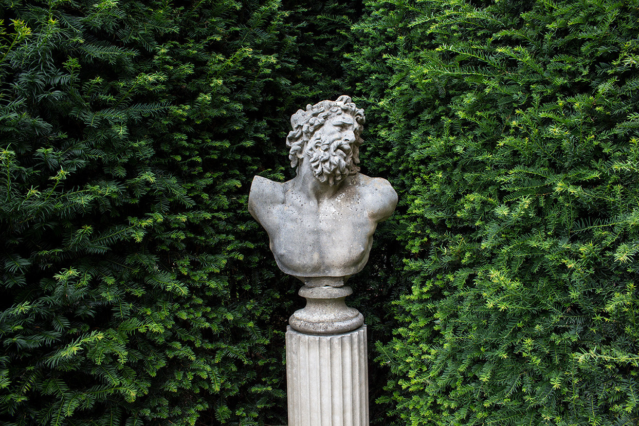 david sharp studio classical garden bust Laocoon