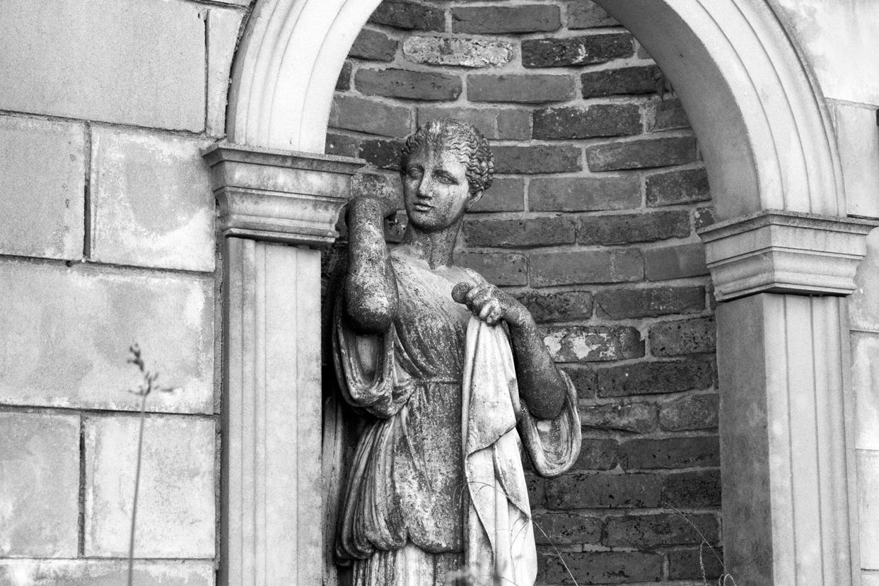 david sharp studio classical garden stone statue