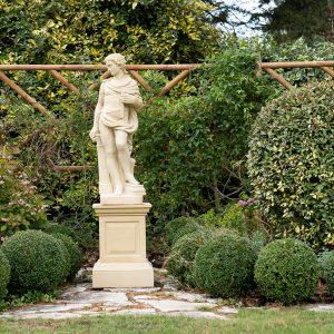Four Arts Stone Garden Statue - Architect