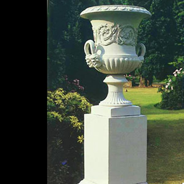 stone palace vase by the David Sharp Studio