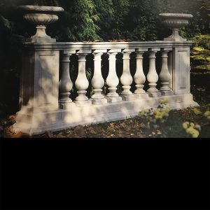 Stone Balustrade Exclusively by The David Sharp Studio
