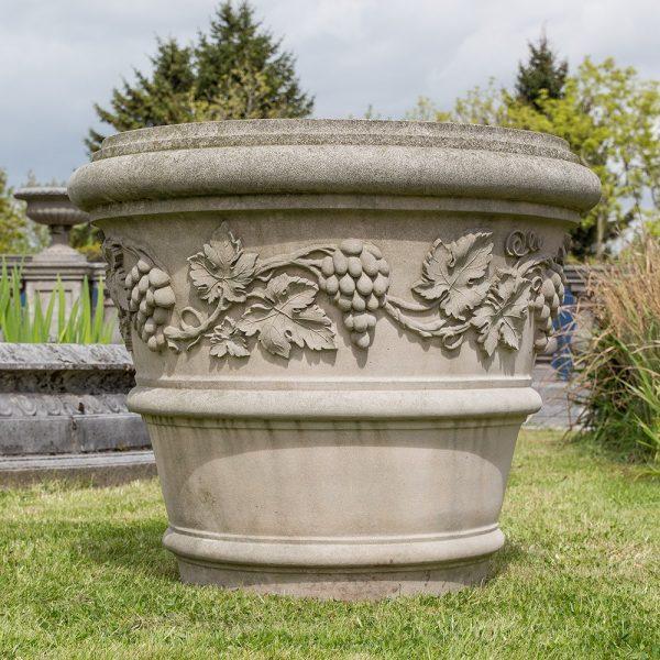 Stone Tuscan Vine Vase Exclusively by The David Sharp Studio